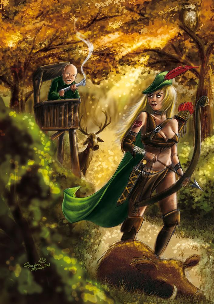 göttin der jagd